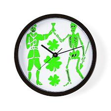 Bart Robert #2-Shamrock Wall Clock