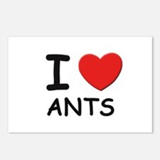 I love ants Postcards (Package of 8)