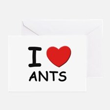 I love ants Greeting Cards (Pk of 10)