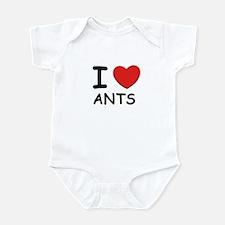 I love ants Infant Bodysuit
