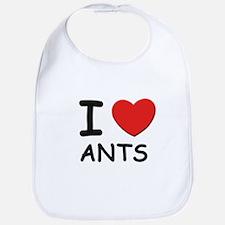 I love ants Bib