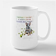 Properly Trained Friendship Puppy Large Mug