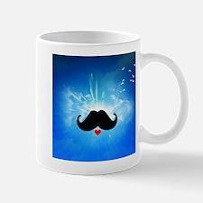 Speak LOVE out loud moustache 4 Mugs