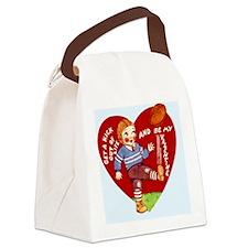 VAL-boy-football Canvas Lunch Bag