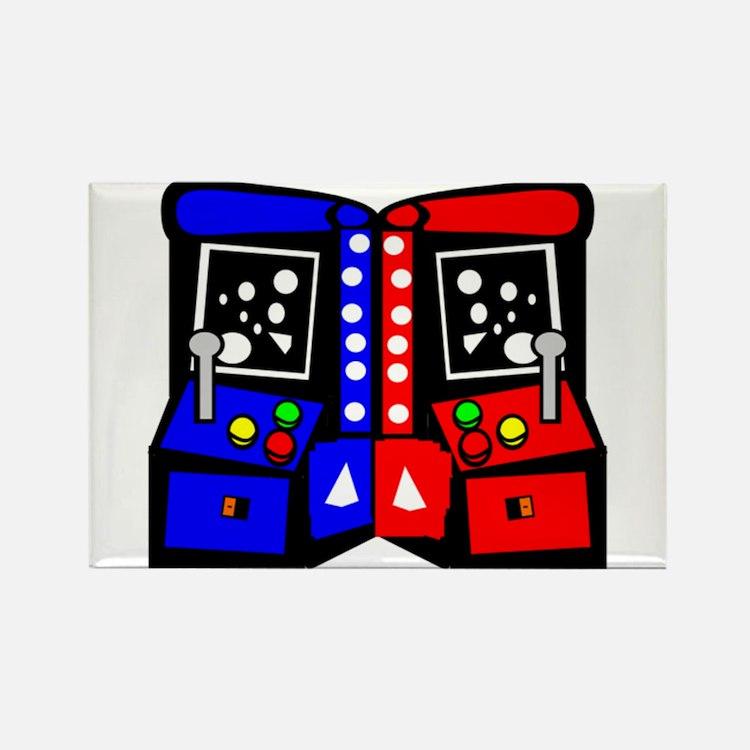 Vintage Arcade Games Magnets