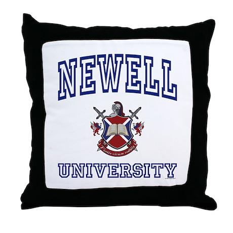NEWELL University Throw Pillow