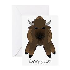 Buffalolight Greeting Card