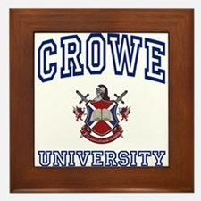 CROWE University Framed Tile