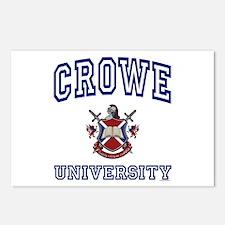 CROWE University Postcards (Package of 8)