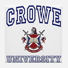 CROWE University Tile Coaster