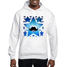 Speak LOVE out loud moustache 1 Hoodie Sweatshirt