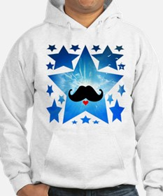 Speak LOVE out loud moustache 1 Hoodie Sweatshirt