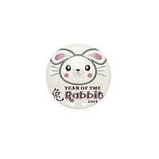 Year of Rabbit 2011 Mini Button