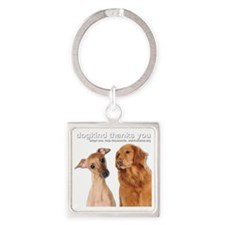 dogkindtrans Square Keychain