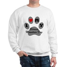 I Heart My Bernese Mountain Dog Sweatshirt
