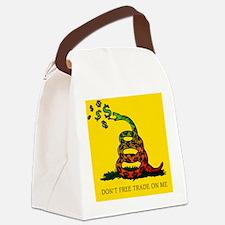 JG_Gadsden_flagSM Canvas Lunch Bag