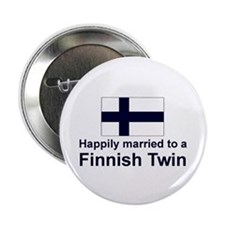 Finnish Twins (Married To) Button