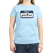 Feeling positive Women's Pink T-Shirt