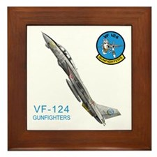 VF-124 Gunfighters Framed Tile