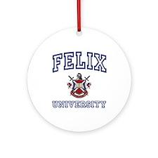 FELIX University Ornament (Round)