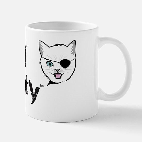 Kitty w patch Mug