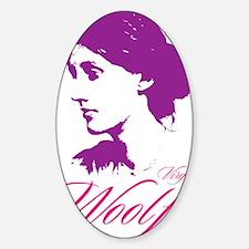 Virginia Woolf Decal