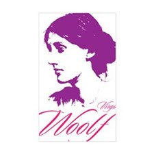 Virginia Woolf Decal
