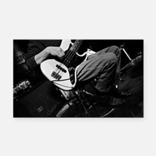 Bass Guitar-022 Rectangle Car Magnet