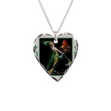 Pillow 12 Dec-ADA-Mavis lady Necklace Heart Charm