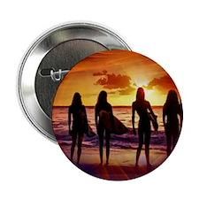 "Surfer Babes 2.25"" Button"