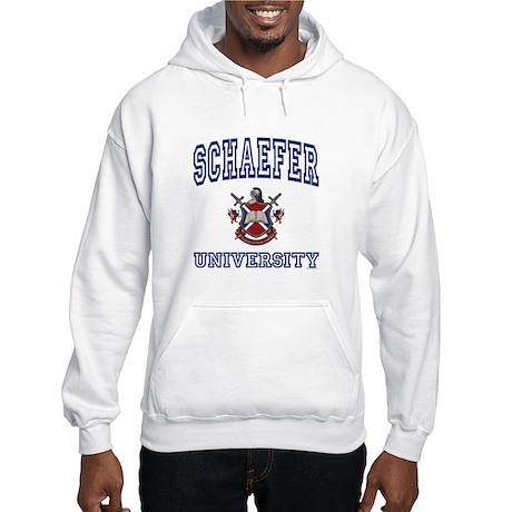 SCHAEFER University Hooded Sweatshirt