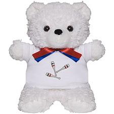 Juggling Clubs Teddy Bear