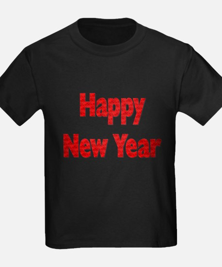 Red Happy New Year T-Shirt