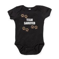 Team Samoyed Baby Bodysuit