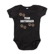 Team Rottweiler Baby Bodysuit