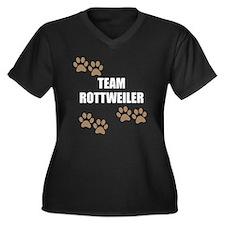 Team Rottweiler Plus Size T-Shirt