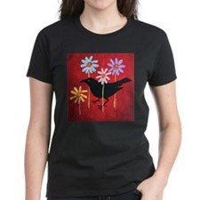 Crow in the Daisies T-Shirt