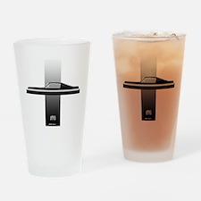 mustangPlain Drinking Glass