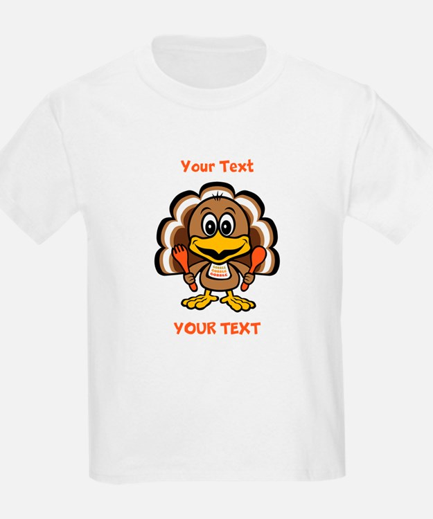 Personalize Little Gobbler T-Shirt