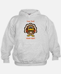Personalize Little Gobbler Hoodie