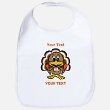 Personalize Little Gobbler Bib