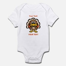Personalize Little Gobbler Infant Bodysuit