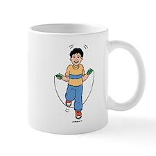 Boy Skipping Rope Mugs
