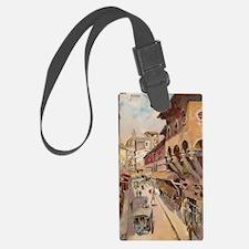 Vintage Florence - Ponte Vecchio Luggage Tag