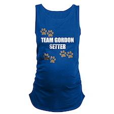 Team Gordon Setter Maternity Tank Top