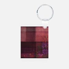 burgundy touch Keychains