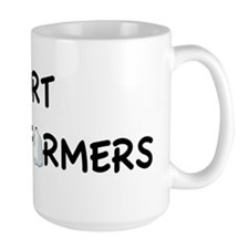 I support dairy farmers Mug