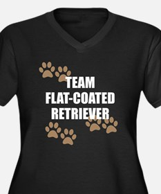 Team Flat-Coated Retriever Plus Size T-Shirt