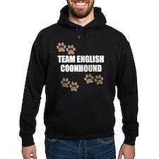 Team English Coonhound Hoodie