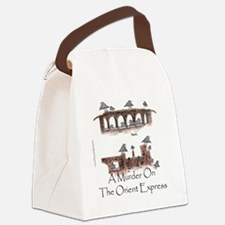 Murder on the Oriental Express 10 Canvas Lunch Bag